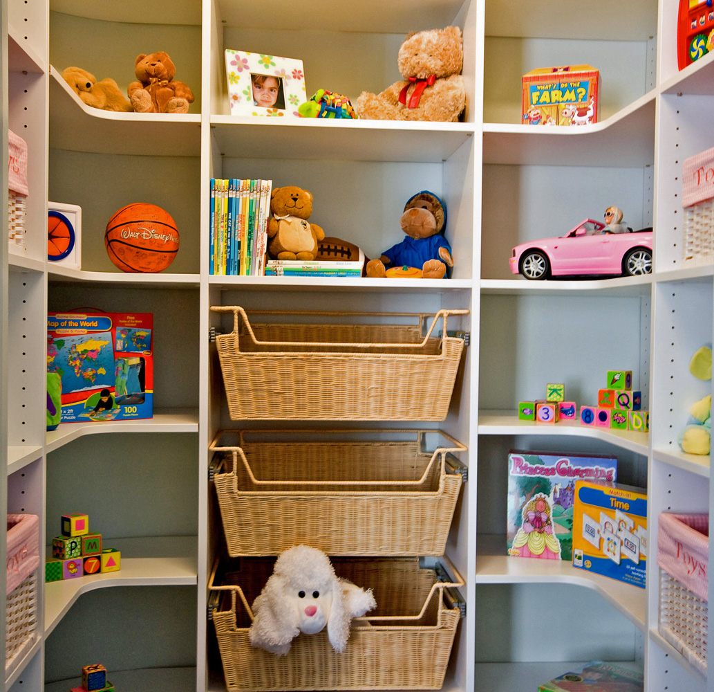 Tailored Closets Toy Closet